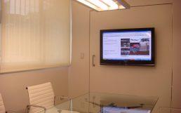 diseño interior, reforma oficina, sala reuniones