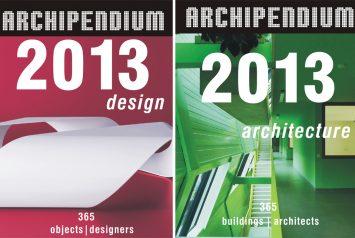 Tapas de calendarios Arquitectura y Diseño Archipendium 2013